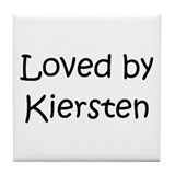 Cute Kiersten Tile Coaster