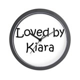 Unique Kiara Wall Clock