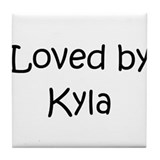 Cute Kyla Tile Coaster