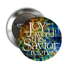 "Christmas Hymn 2.25"" Button"