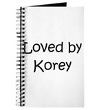 Cute Korey Journal