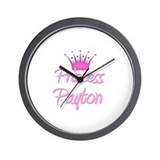 Princess Payton Wall Clock