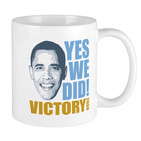 Yes We Did VICTORY Mug