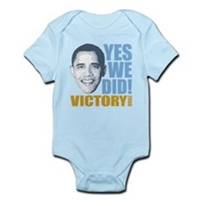 Yes We Did VICTORY Onesie