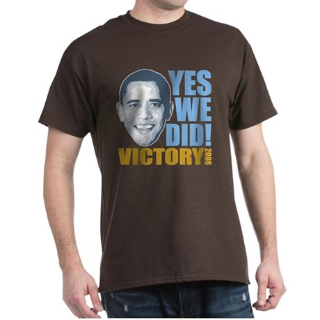 Yes We Did VICTORY Dark T-Shirt