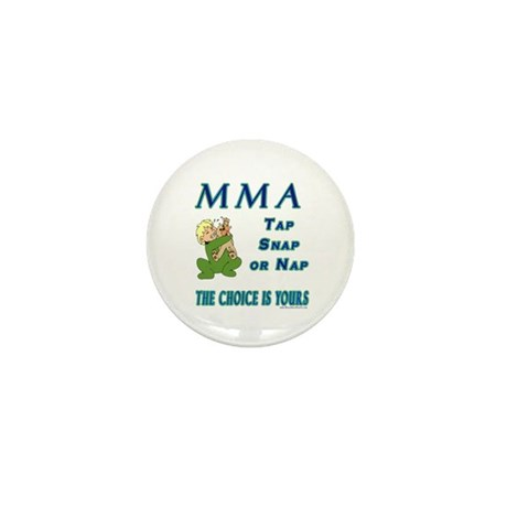 MMA Teddy Bear Mini Button (100 pack)