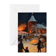 God Jul Greeting Card