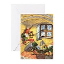 God Jul Greeting Cards (Pk of 10)