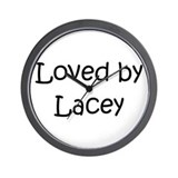 Cute Lacey Wall Clock