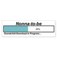 Download Nonna to Be Bumper Bumper Sticker
