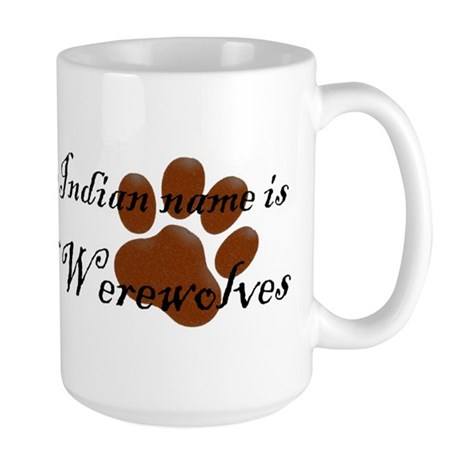 Dances w/Werewolves Large Mug