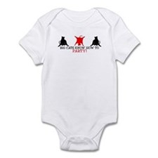 BIG CATS KNOW HOW TO PARTY EV Infant Bodysuit