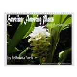 Hawaiian Flowering Plants Wall Calendar