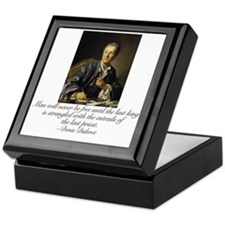 Denis Diderot Keepsake Box