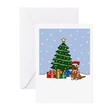 ACD Howling Holiday Greeting Cards (Pk of 10)