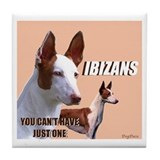 Ibizan Group Tile Coaster