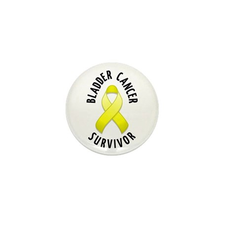 Bladder Cancer Survivor Mini Button