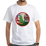 Deck The Halls Scottie Shirt
