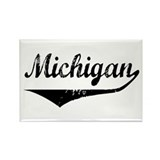 Michigan Rectangle Magnet (100 pack)