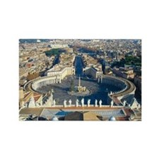 Rome Vatican Rectangle Magnet
