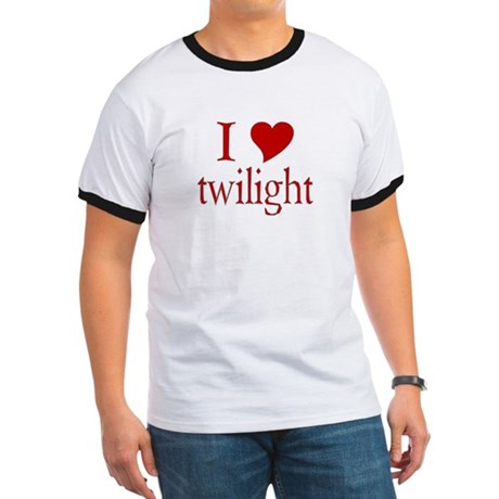 I love (heart) twilight Ringer T