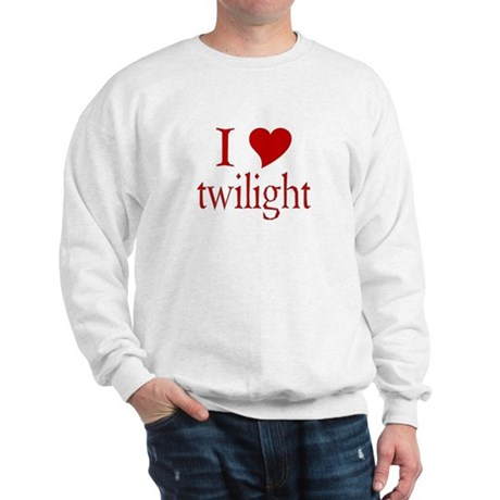 I love (heart) twilight Sweatshirt