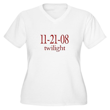 Dated Twilight Movie Women's Plus Size V-Neck T-Sh