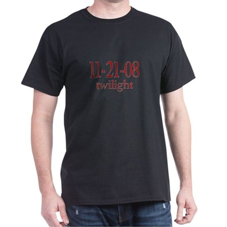 Dated Twilight Movie Dark T-Shirt