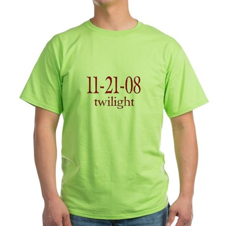 Dated Twilight Movie Green T-Shirt
