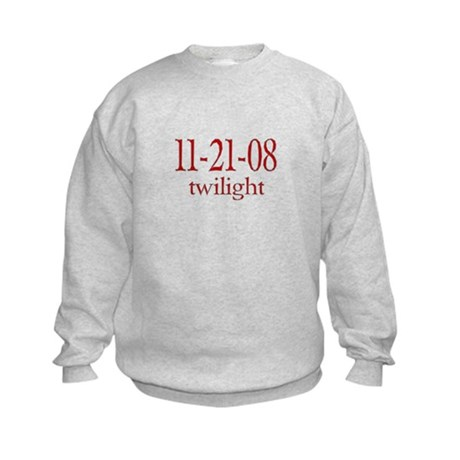 Dated Twilight Movie Kids Sweatshirt