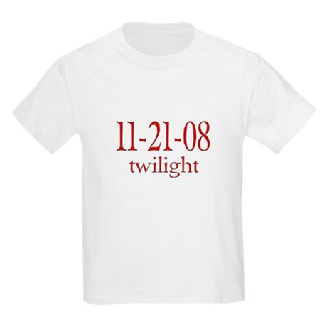 Dated Twilight Movie Kids Light T-Shirt