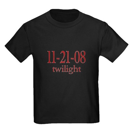 Dated Twilight Movie Kids Dark T-Shirt
