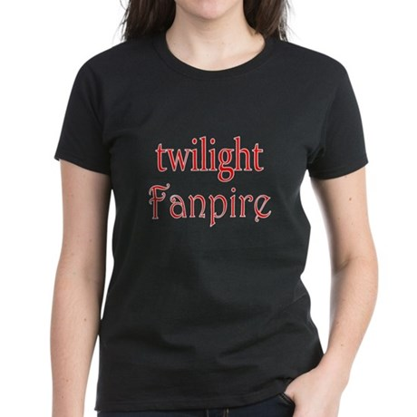 Twilight Fanpire Women's Dark T-Shirt