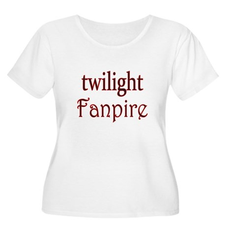 Twilight Fanpire Women's Plus Size Scoop Neck T-Sh