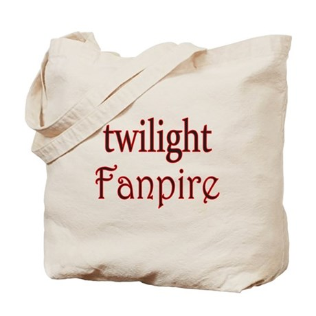 Twilight Fanpire Tote Bag