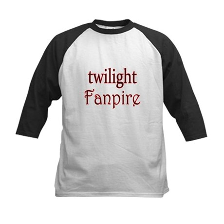 Twilight Fanpire Kids Baseball Jersey
