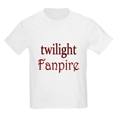 Twilight Fanpire Kids Light T-Shirt