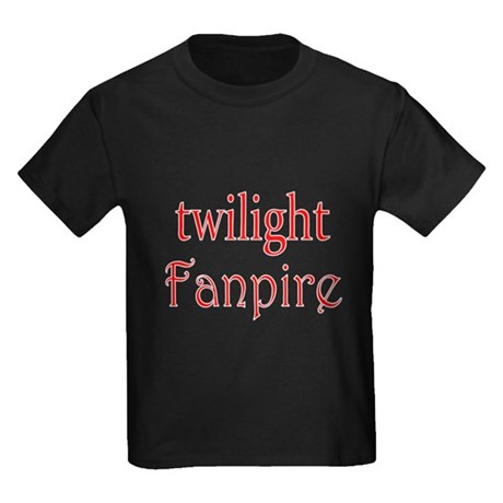 Twilight Fanpire Kids Dark T-Shirt