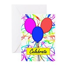 Celebrate Greeting Cards (Pk of 10)