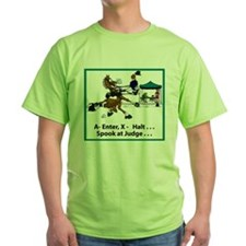 Spook at X Dressage Horse T-Shirt