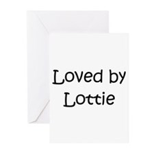 Cute Love lottie Greeting Cards (Pk of 20)
