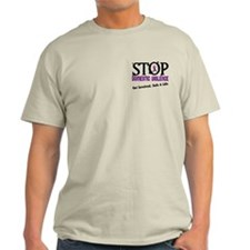 Stop Domestic Violence 2 T-Shirt