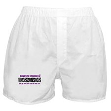 Domestic Violence Survivor 1 Boxer Shorts