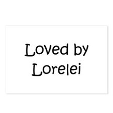 Unique Lorelei Postcards (Package of 8)