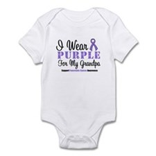 I Wear Purple (Grandpa) Infant Bodysuit
