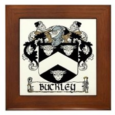 Buckley Coat of Arms Framed Tile