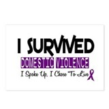 Domestic Violence Survivor 2 Postcards (Package of