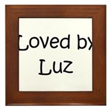 Cute Luz Framed Tile