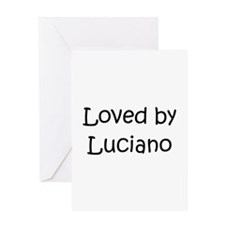 Cute Luciano Greeting Card