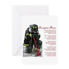 Firefighter Prayer Greeting Card